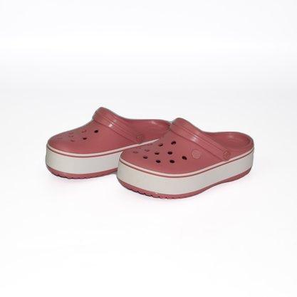 Crocs Crocband Paltform Clog Rose