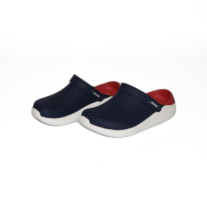 Crocs LiteRide Clog Azul Marinho/Vermelho