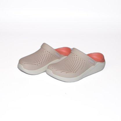 Crocs LiteRide Clog Bege/Coral