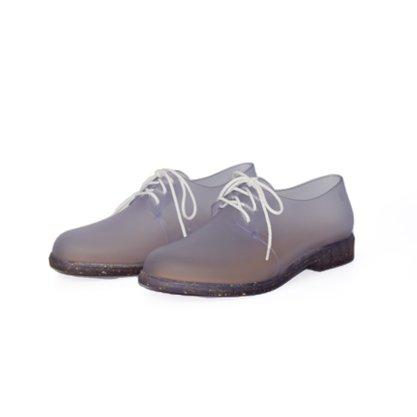 Melissa Glow AD Sapato Oxford Tranparente