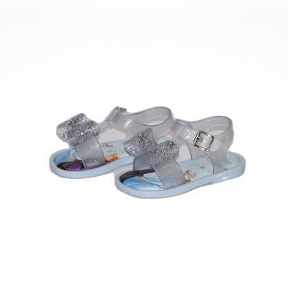 Mini Melissa Mar Sandal + Frozen Azul/Transparente
