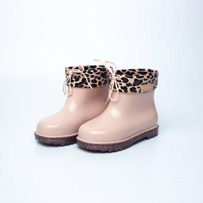 Mini Melissa Rain Boot Rosa