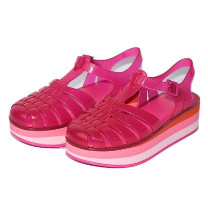 Sandalia Melissa Possession Plataforma Pink