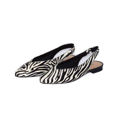 Sapato Ana Capri Pelo Zebra