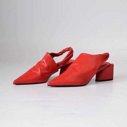 Sapato Carrano Couro Vermelho