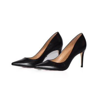 Sapato Scarpin Carrano Preto Salto Medio