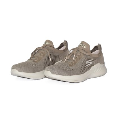 Tênis Skechers Ultra Go Taupe