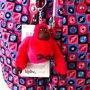 Mochila Kipling Dics Tile Rosa