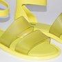 Rasteira Melissa Model Amarelo Fluor