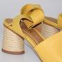 Sandália Carrano Amarelo com Amarração