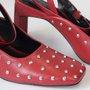 Sapato Carrano Spike Vermelho